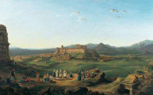 R. B. Harraden, Άποψη της Αθήνας