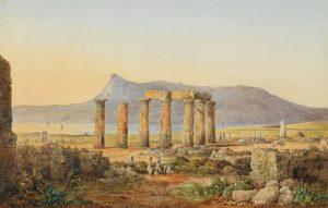Fr. Williams, Ο ναός του Απόλλωνα στην Κόρινθο