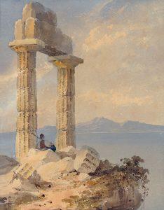 W. Page, Έλληνας ανάμεσα σε ερείπια