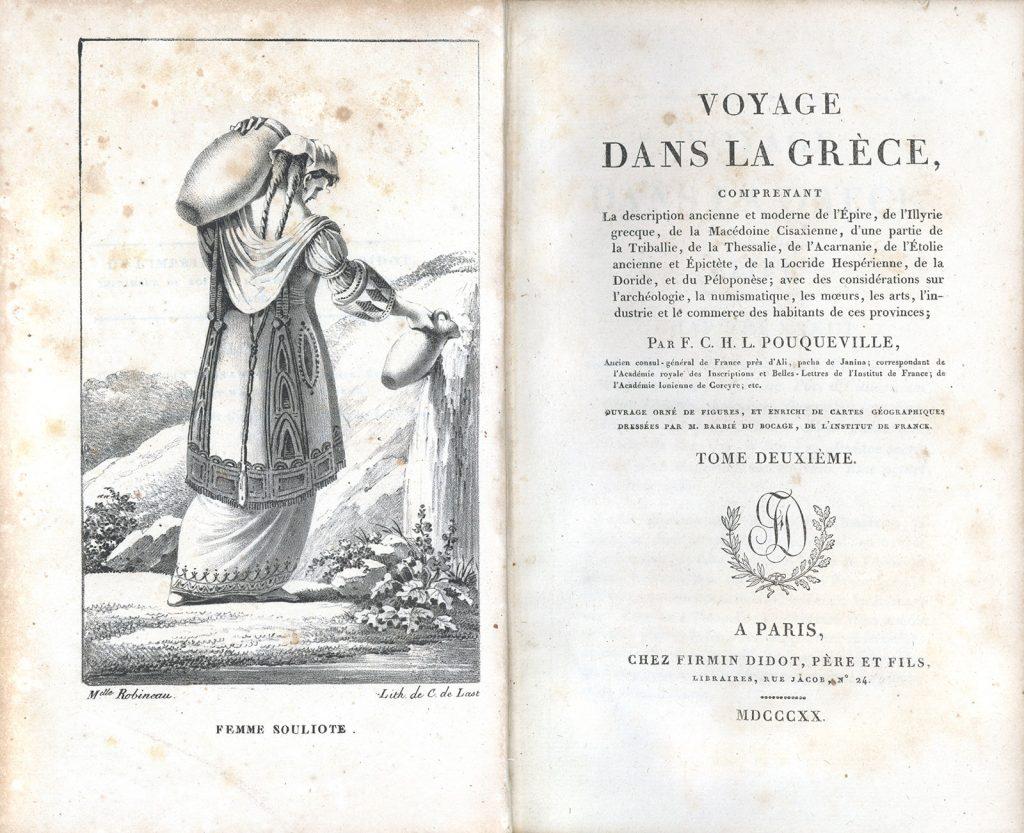 F. Pouqueville, Voyage dans la Grèce