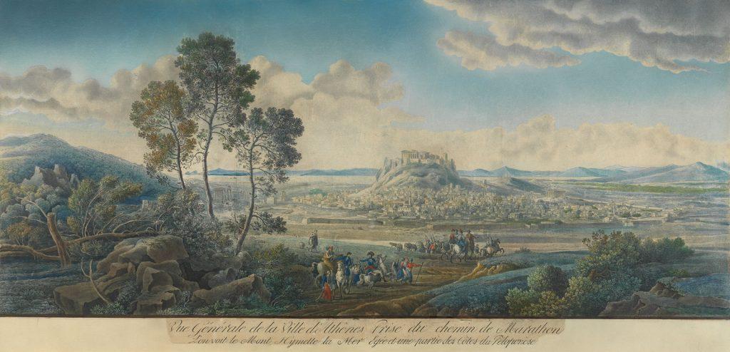 L.F. Cassas, Άποψη της Αθήνας