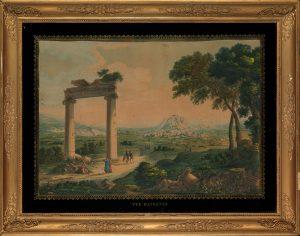 L.F. Cassas, Το αθηναϊκό υδραγωγείο
