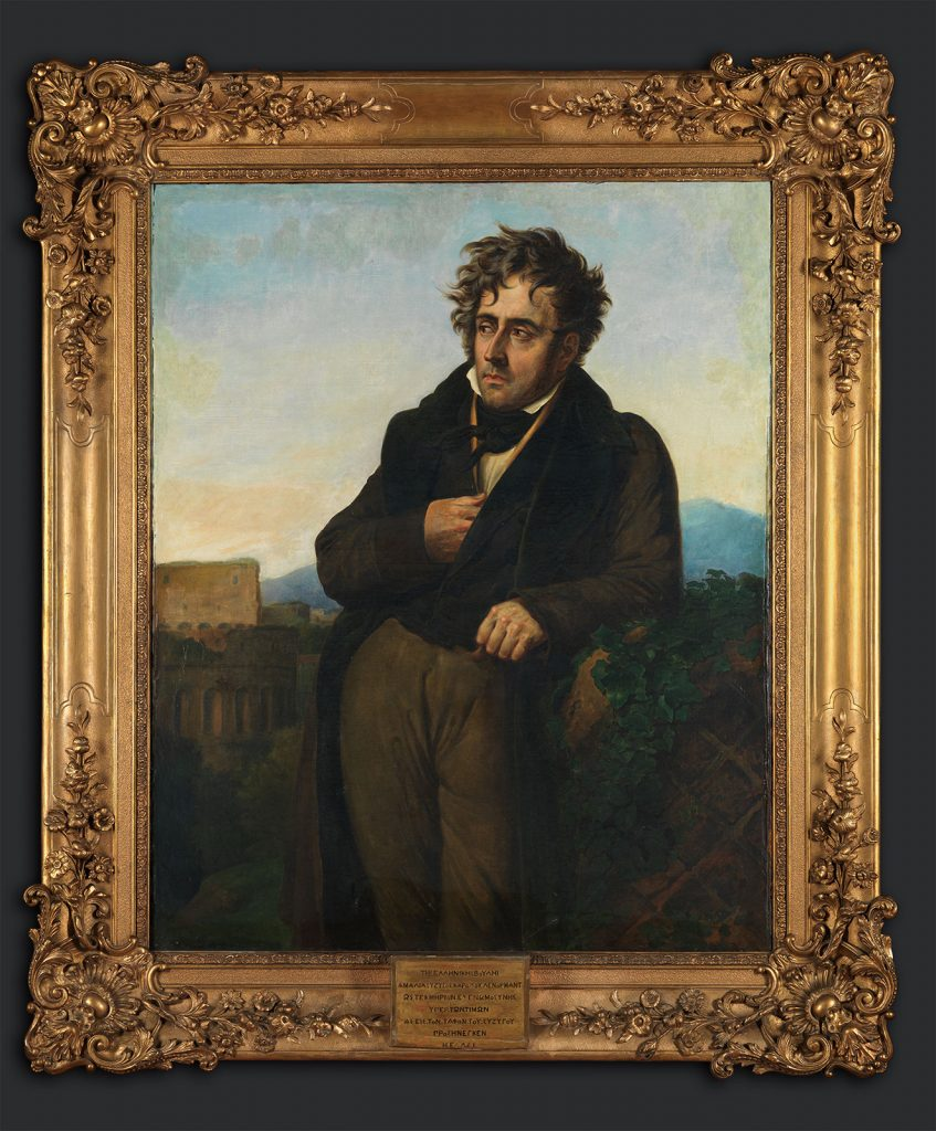 Girodet de Roussy-Trioson, Ο Σατωβριάνδος