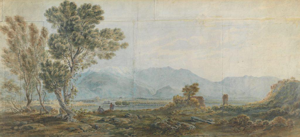 J.C. von Hallerstein, Άποψη του Παρνασσού