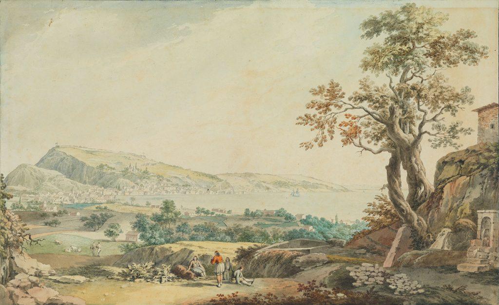 J. Schranz, Άποψη της Ζακύνθου