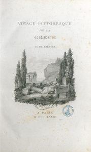 Comte de Choiseul-Gouffier, Voyage pittoresque de la Grèce