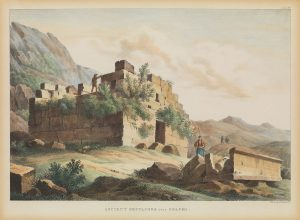E. Dodwell, Αρχαίος τάφος στους Δελφούς