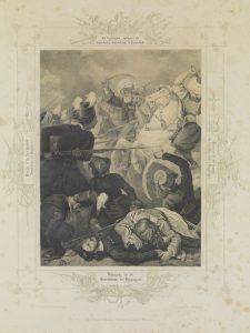 P. von Hess, Οι Ιερολοχίτες στο Δραγατσάνι