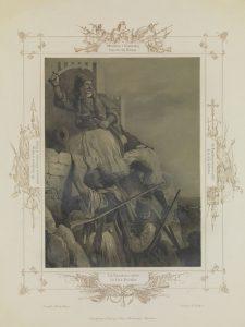 P. von Hess, Ο Α. Κανακάρης κυριεύει την Πάτρα