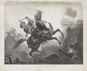 C. Vernet, Η αναχαιτισμένη επίθεση