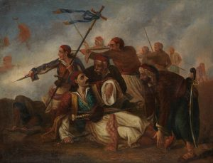 L. Gualtieri, Ο θάνατος του Μπότσαρη