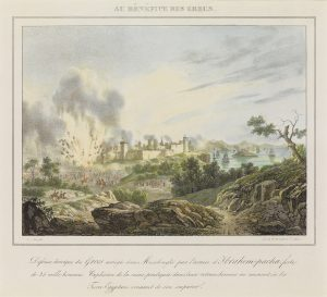 N.V. Fonville, Ηρωική αντίσταση των Ελλήνων πολιορκημένων στο Μεσολόγγι