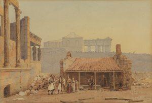 G. Schranz, Έλληνες στην Ακρόπολη