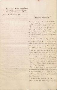 Επιστολή Εϋνάρδου προς Καποδίστρια