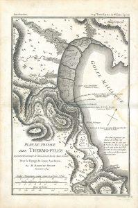 J.D. Barbié du Bocage, Plan du passage des Thermopyles