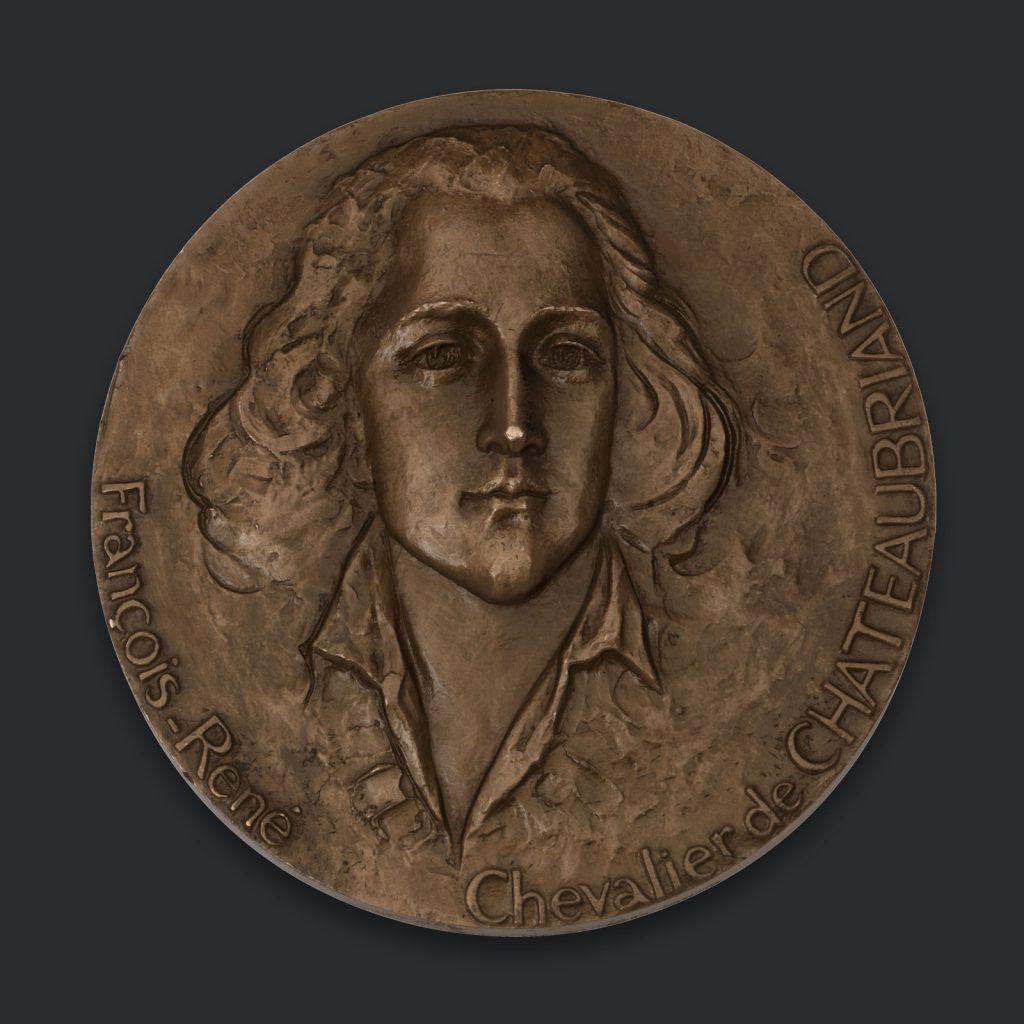Μετάλλιο του ΣατωβριάνδουΜετάλλιο του Σατωβριάνδου
