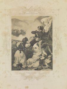 P. von Hess, Ο Δημήτριος Υψηλάντης υπερασπίζεται το Άργος