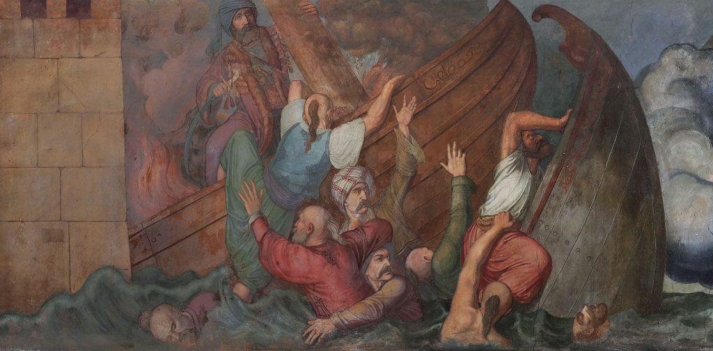 Νίκη των Ελλήνων εναντίον των Τούρκων στη θάλασσα